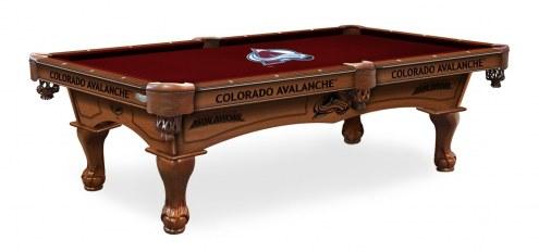 Colorado Avalanche Pool Table