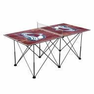 Colorado Avalanche Pop Up 6' Ping Pong Table