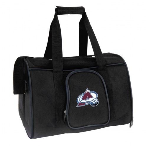 Colorado Avalanche Premium Pet Carrier Bag