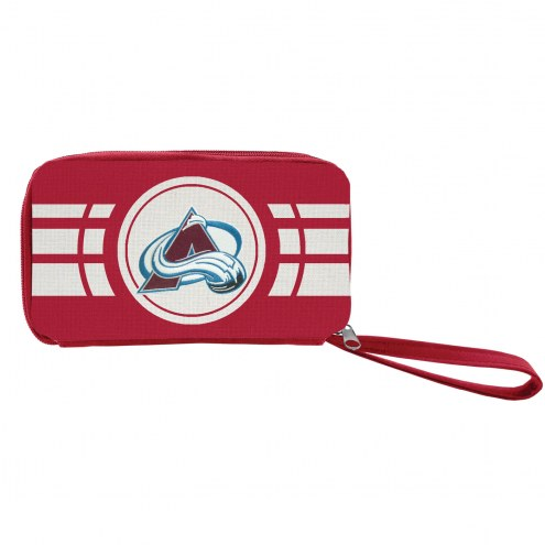 Colorado Avalanche Ripple Zip Wallet