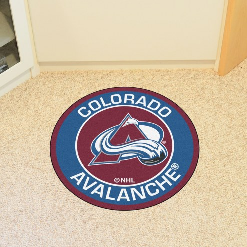 Colorado Avalanche Rounded Mat