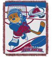 Colorado Avalanche Score Baby Blanket