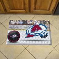 Colorado Avalanche Scraper Door Mat