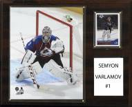 "Colorado Avalanche Semyon Varlamov 12"" x 15"" Player Plaque"