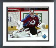 Colorado Avalanche Semyon Varlamov Action Framed Photo