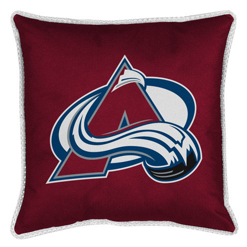 Colorado Avalanche Sidelines Pillow
