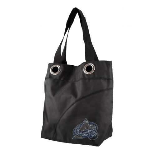 Colorado Avalanche Sport Noir Sheen Tote