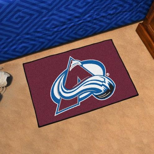 Colorado Avalanche Starter Rug