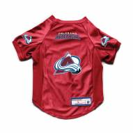 Colorado Avalanche Stretch Dog Jersey