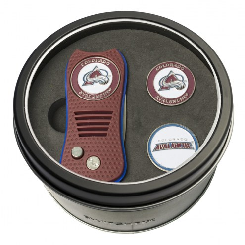 Colorado Avalanche Switchfix Golf Divot Tool & Ball Markers
