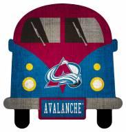Colorado Avalanche Team Bus Sign