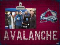 Colorado Avalanche Team Name Clip Frame