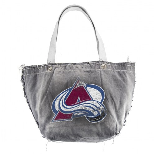 Colorado Avalanche Vintage Tote Bag
