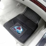 Colorado Avalanche Vinyl 2-Piece Car Floor Mats