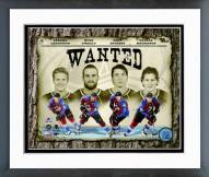 """Colorado Avalanche """"Wanted"""" Composite Framed Photo"""