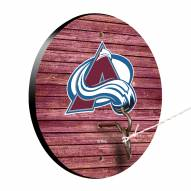 Colorado Avalanche Weathered Design Hook & Ring Game