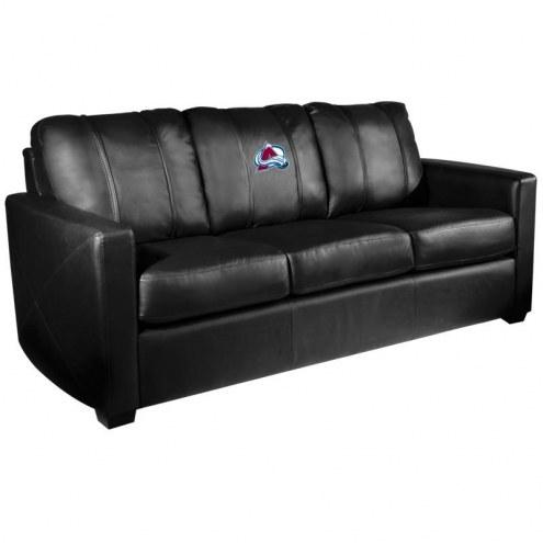 Colorado Avalanche XZipit Silver Sofa