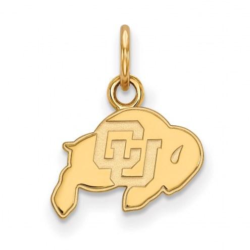 Colorado Buffaloes 10k Yellow Gold Extra Small Pendant