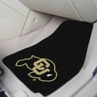 Colorado Buffaloes 2-Piece Carpet Car Mats