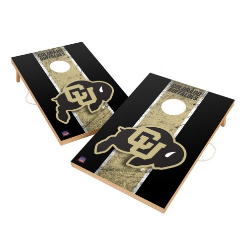 Colorado Buffaloes 2' x 3' Vintage Wood Cornhole Game