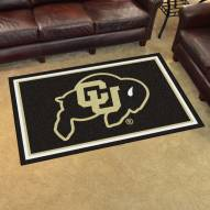Colorado Buffaloes 4' x 6' Area Rug