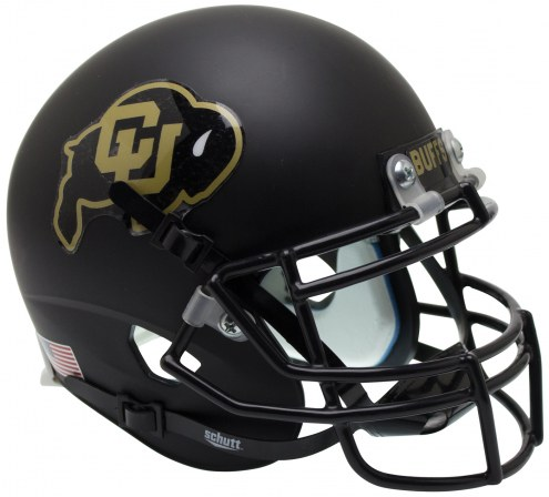 Colorado Buffaloes Alternate 1 Schutt XP Authentic Full Size Football Helmet