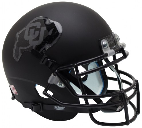 Colorado Buffaloes Alternate 2 Schutt XP Authentic Full Size Football Helmet