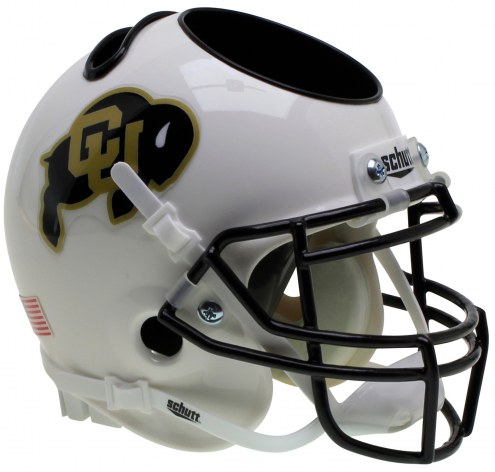 Colorado Buffaloes Alternate 3 Schutt Football Helmet Desk Caddy