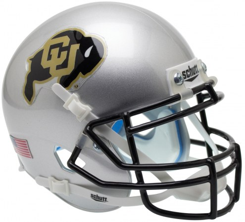 Colorado Buffaloes Alternate 4 Schutt XP Authentic Full Size Football Helmet