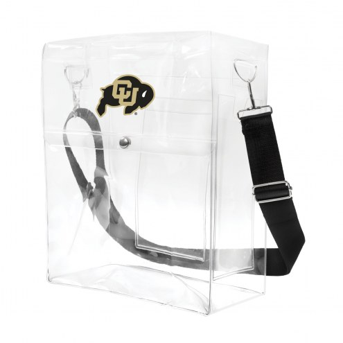 Colorado Buffaloes Clear Ticket Satchel
