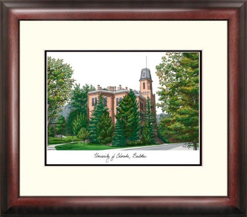 Colorado Buffaloes Alumnus Framed Lithograph