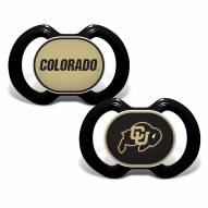 Colorado Buffaloes Baby Pacifier 2-Pack
