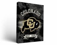 Colorado Buffaloes Banner Canvas Wall Art