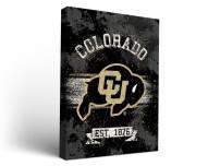 Colorado Buffaloes Banner Canvas Wall Art