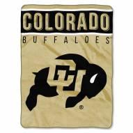 Colorado Buffaloes Basic Plush Raschel Blanket
