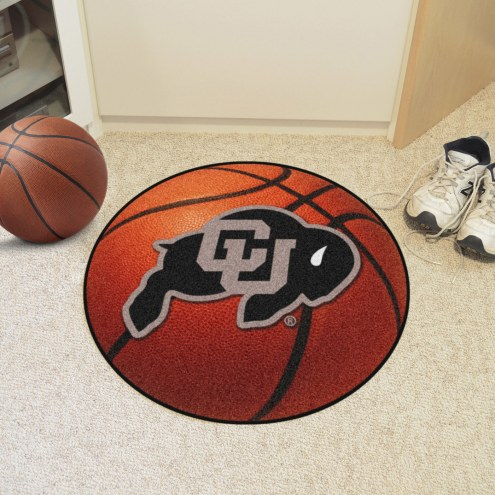 Colorado Buffaloes Basketball Mat