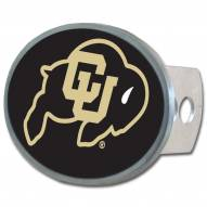 Colorado Buffaloes Class II and III Oval Metal Hitch Cover