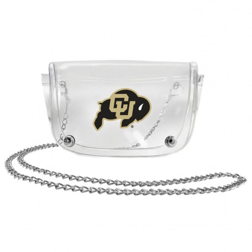 Colorado Buffaloes Clear Waistpack
