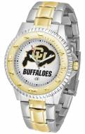 Colorado Buffaloes Competitor Two-Tone Men's Watch