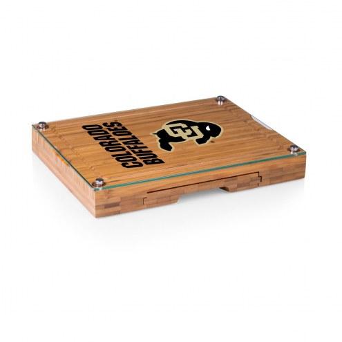 Colorado Buffaloes Concerto Bamboo Cutting Board