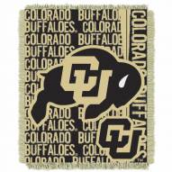 Colorado Buffaloes Double Play Woven Throw Blanket