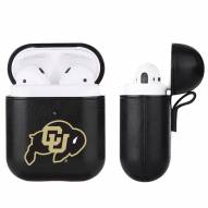 Colorado Buffaloes Fan Brander Apple Air Pods Leather Case