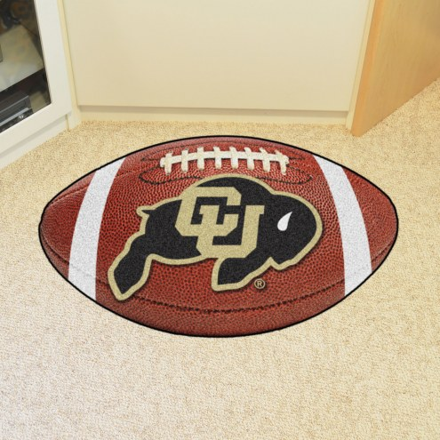 Colorado Buffaloes Football Floor Mat