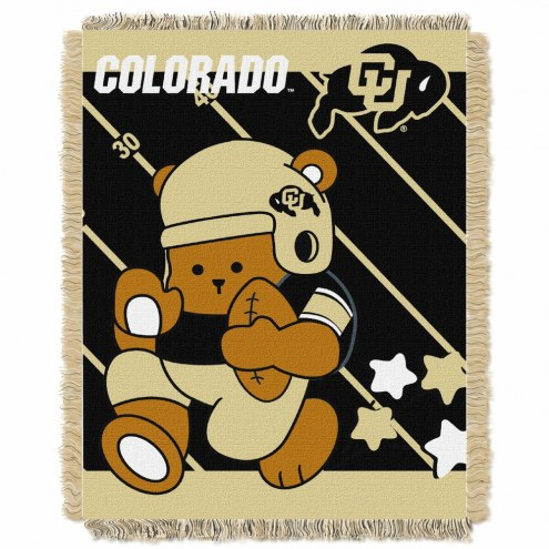 Colorado Buffaloes Fullback Baby Blanket