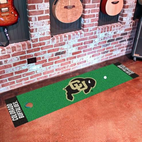 Colorado Buffaloes Golf Putting Green Mat