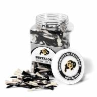 Colorado Buffaloes 175 Golf Tee Jar