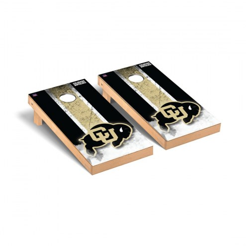 Colorado Buffaloes Grunge Cornhole Game Set