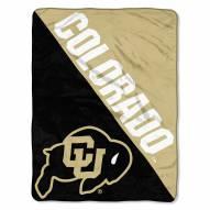 Colorado Buffaloes Halftone Raschel Blanket