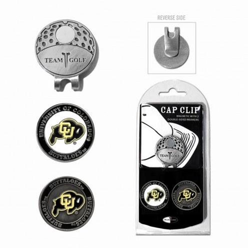 Colorado Buffaloes Hat Clip & Marker Set