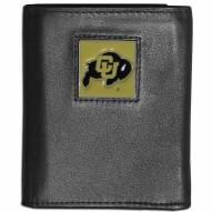 Colorado Buffaloes Leather Tri-fold Wallet